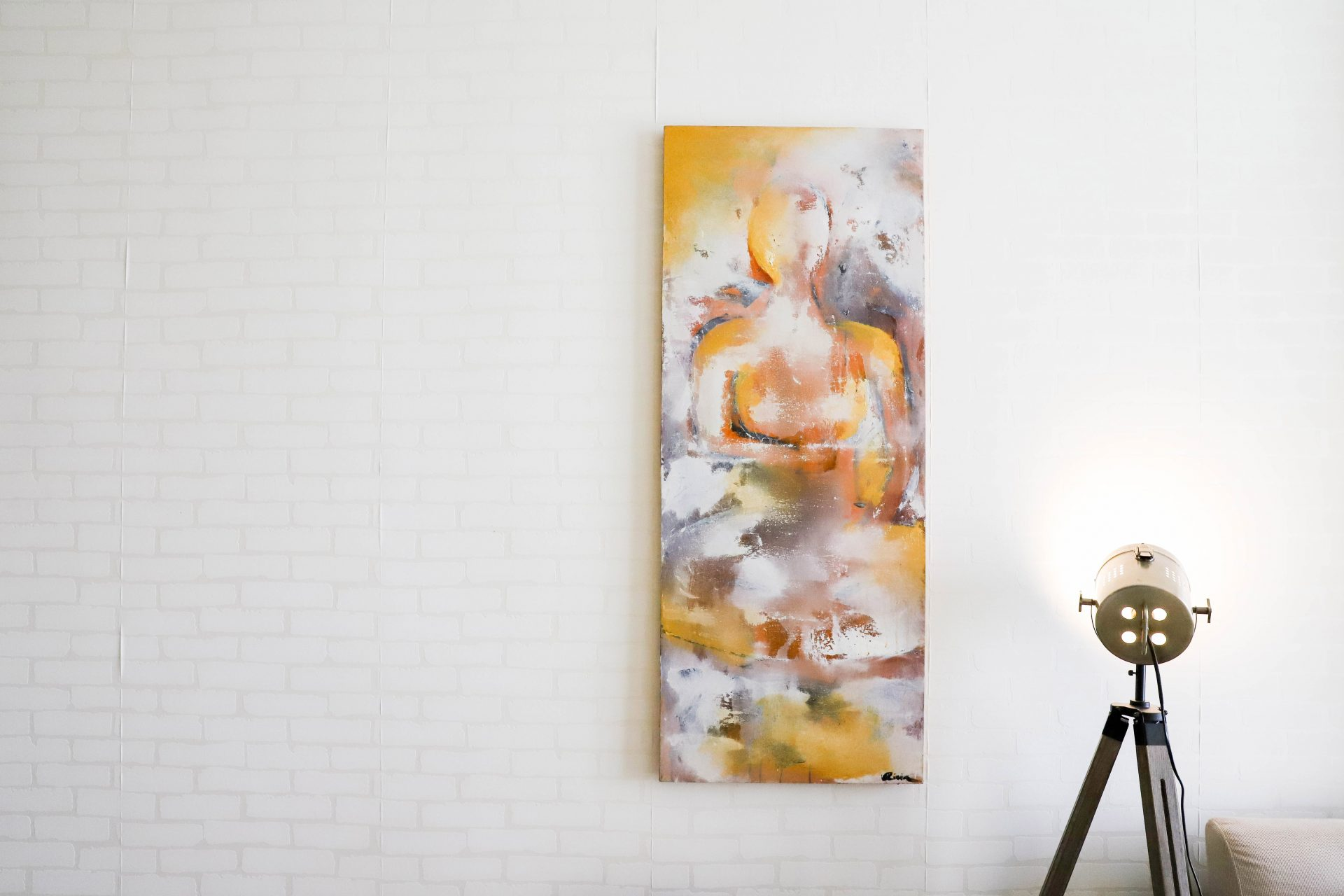 Mindful Painting In Olivia Coleon's Living Room
