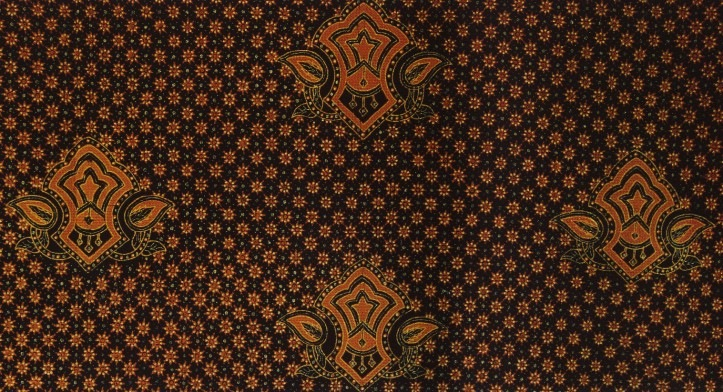 Traditional batik motifs